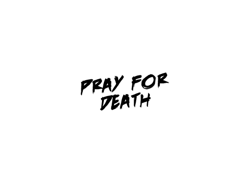 Pray For Death title by Marten Go