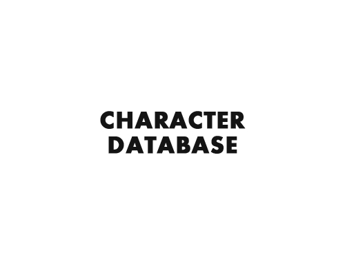 Character Database title by Marten Go