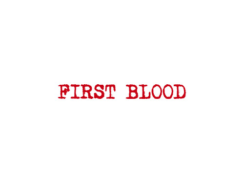 First Blood logo