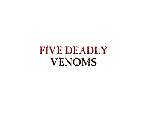 Five Deadly Venoms logo