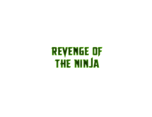 Revenge of the Ninja logo
