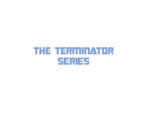 The Terminator Series logo